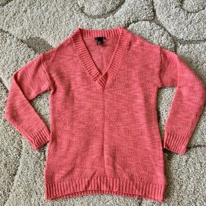 H&M Coral Sweater